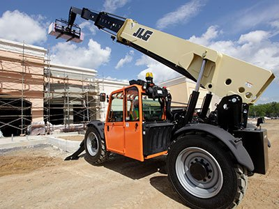 JLG Telehandler in Construction Application