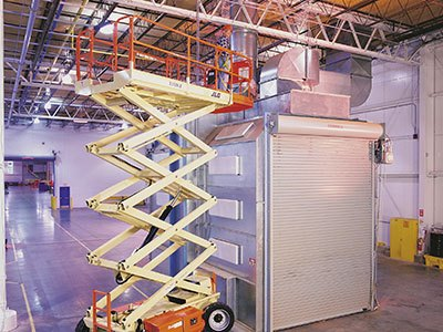 JLG Scissor Lift - Industrial Application