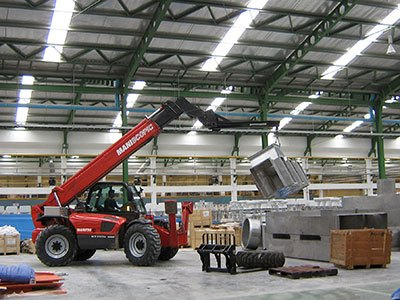 Telehandler Equipment for the Precast Industry