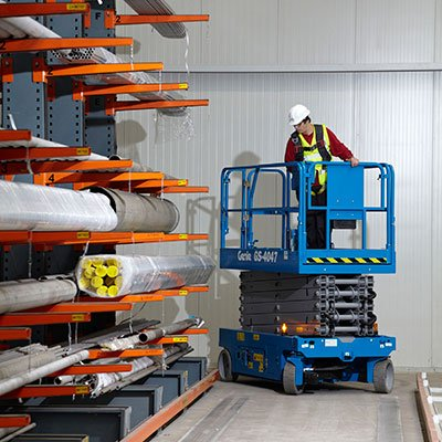 Scissor Lift Training With Lonestar Forklift