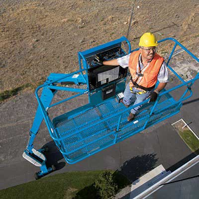 Boom Lift Operator Training With Lonestar Forklift