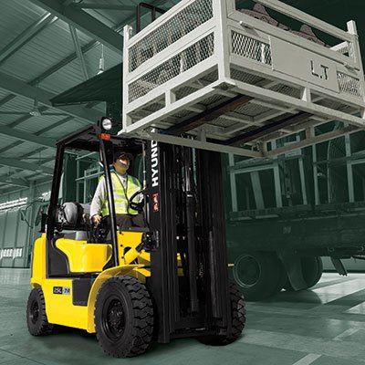 Forklift Training With Lonestar Forklift