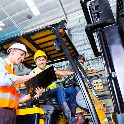 Operator Training With Lonestar Forklift