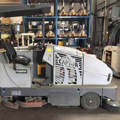 Used Sweeper/Scrubbers From Lonestar Forklift