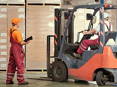 Forklift Training in Midland